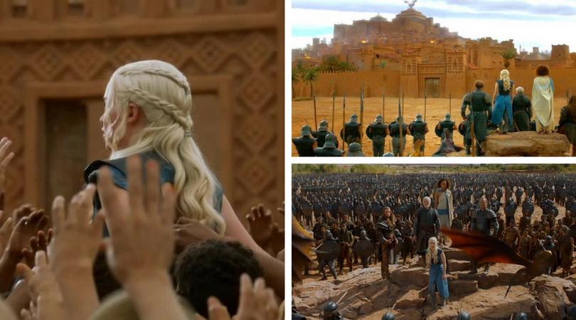 escenarios de Juego de Tronos en Marruecos